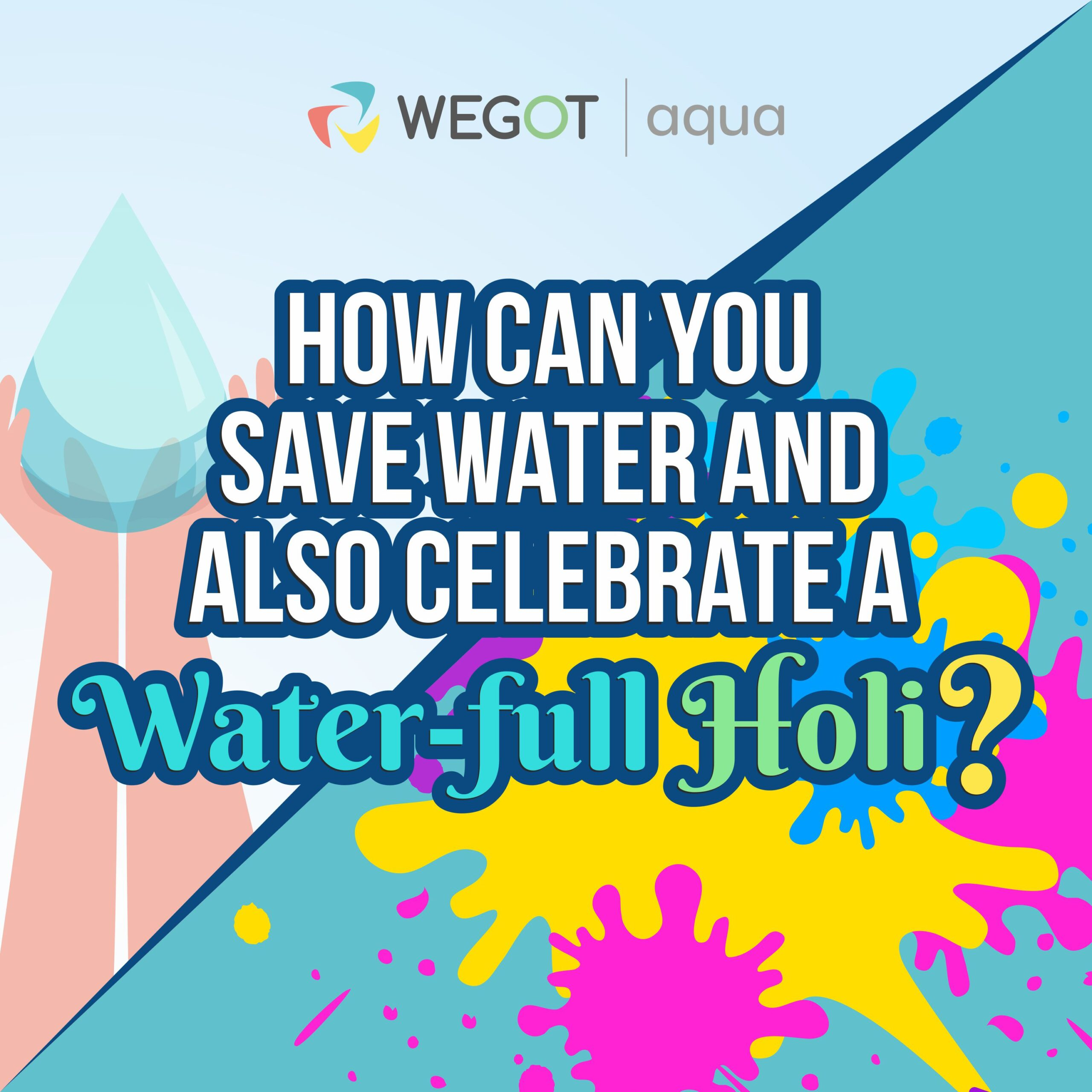 save water this holi