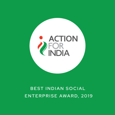 Action for India - Best Indian Social Enterprise Award, 2019