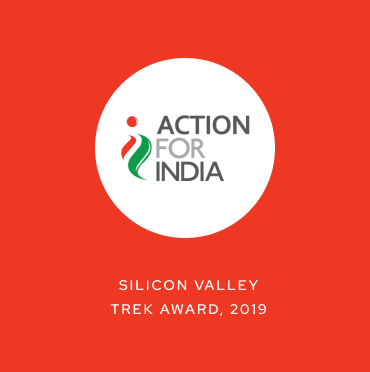Action for India - Silicon Valley Trek Award, 2019