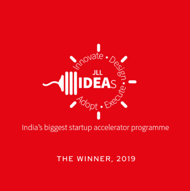 JLL Ideas - India's biggest startup accelerator Programme - The Winner, 2019